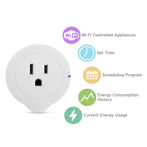 WiFi Smart Plug Mini Outlet with Energy Monitoring pictures & photos