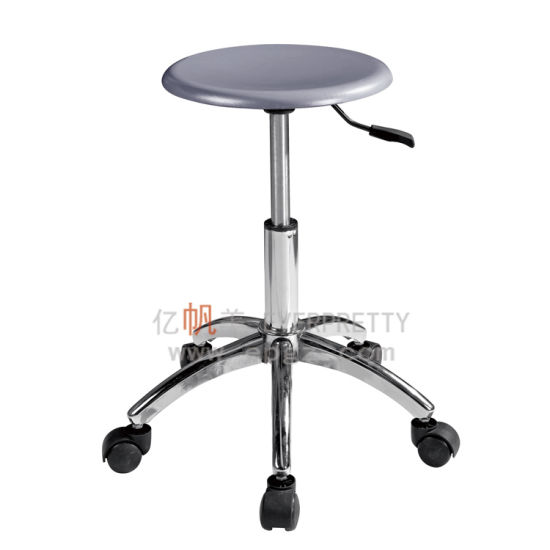 Round Stool with Wheels, Adjustable Heigh Chair for Lab /School pictures & photos