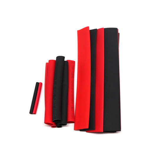 150pcs 2:1 Polyolefin Heat Shrink Tubing Tube Sleeving Wrap Wire Kit Cable FO