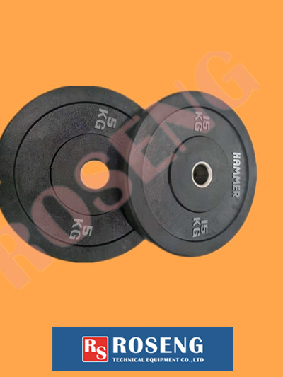 High Quality Rubber Barbell Discs for Sports
