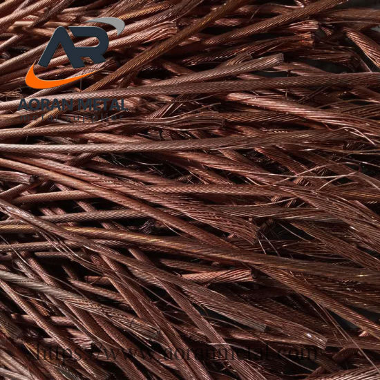 99.99%-99.97 Copper Wire Scrap with SGS Test