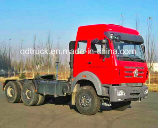 LOW PRICE 2638 BEIBEN TRACTOR TRUCK HEAD 380HP pictures & photos