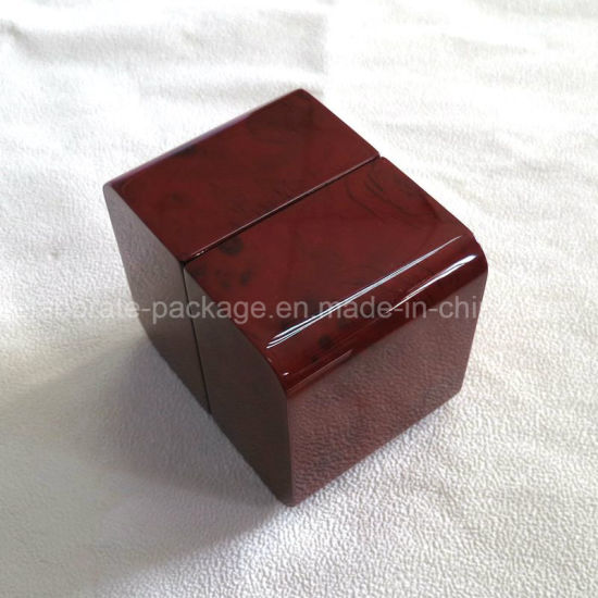 Luxury Wooden Wedding Ring Jewelry Display Packing Box pictures & photos