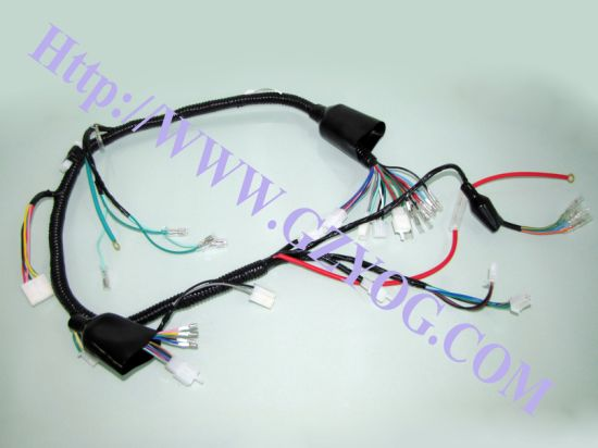 motorcycle spare parts harness wire for 125cc honda yamaha suzuki