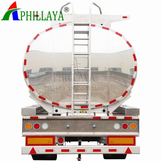 Aluminium Alloy Fuel Tank Semi Trailer (42m3 with ADR) (03)