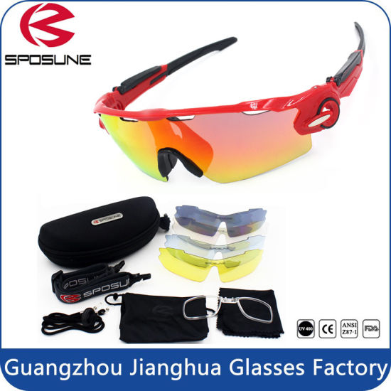 eaa25ffd9bae UV Protections Unbreakable PC Lens Fashion Sports Sunglasses for Ride  Cycling Driving Running pictures   photos