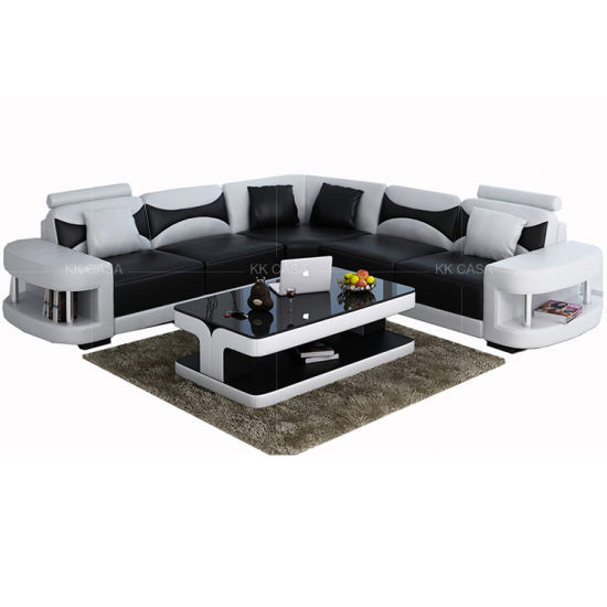 Factory Wholesale Fabric L Shaped Sectional Sofa, Modern European Style