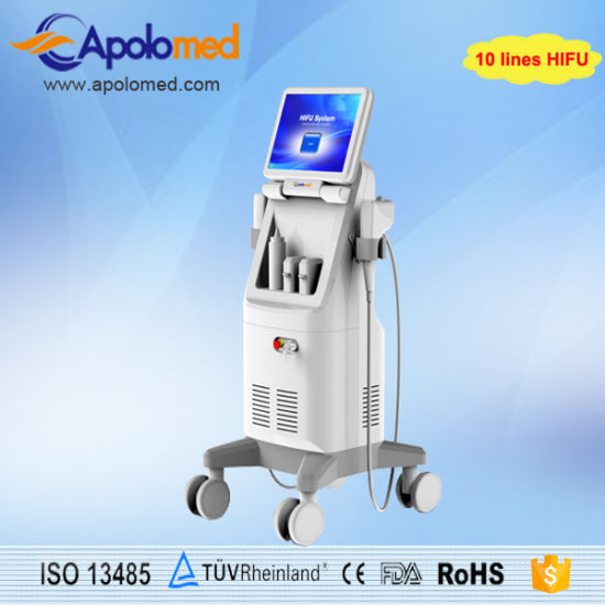 Hifu for Wrinkle Smooth /13mm Hifu Machine/ Ultrasound Hifu Face Lift pictures & photos