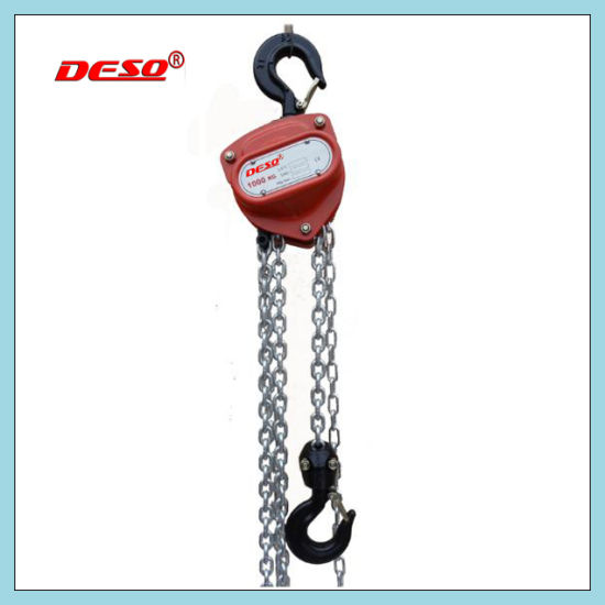 Building Lifting Tools Hand Chain Block Hoist pictures & photos