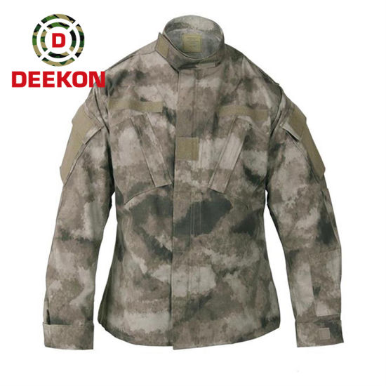 Military a-Tacs Au Camouflage N/C 50/50 Army Uniform Acu