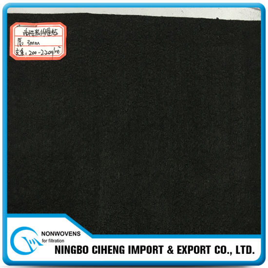 High Adsorption Needle Punched Acf Activated Carbon Felt Cloth