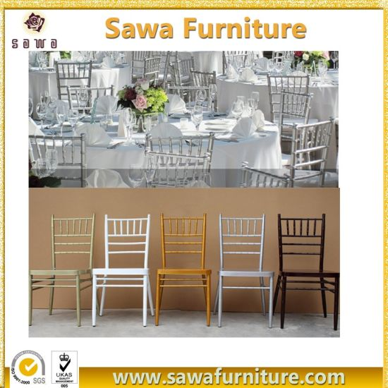 Wholesale Fancy Used White Wedding Party Chiavari Chairs for Sale
