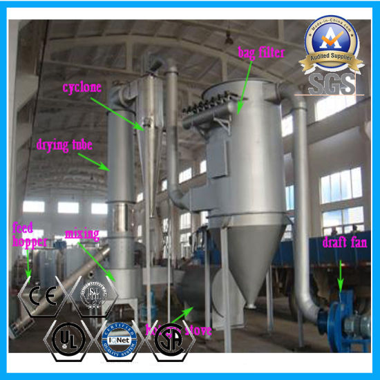 China Xsg Spin Flash Drying Machine for Starch, Dye, Spent Grain