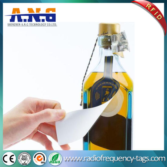RFID NFC Bottle Tag Sticker for Wine and Medicine Management