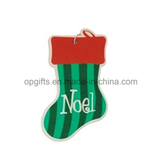 Promotional Christmas Handling Auto Paper Car Air Freshsner pictures & photos