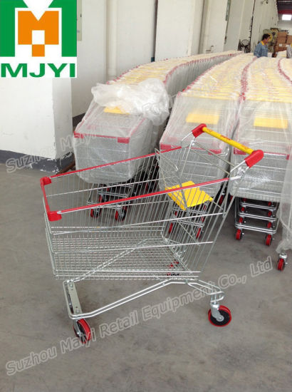 Caddie Style Supermarket Retail Store Convenient Shopping Trolley pictures & photos