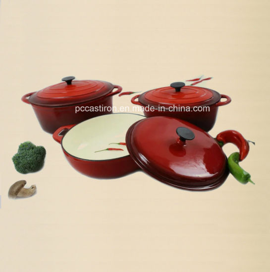 4PCS Cast Iron Cookware Set pictures & photos