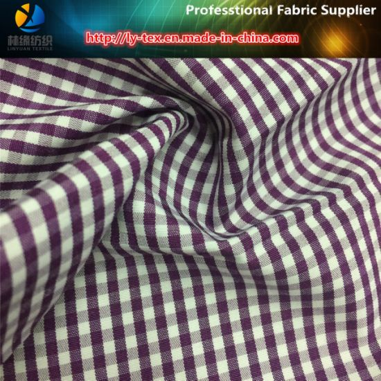 Plain Polyester/Cotton Yarn Dyed Check Fabric for Women Shirt pictures & photos
