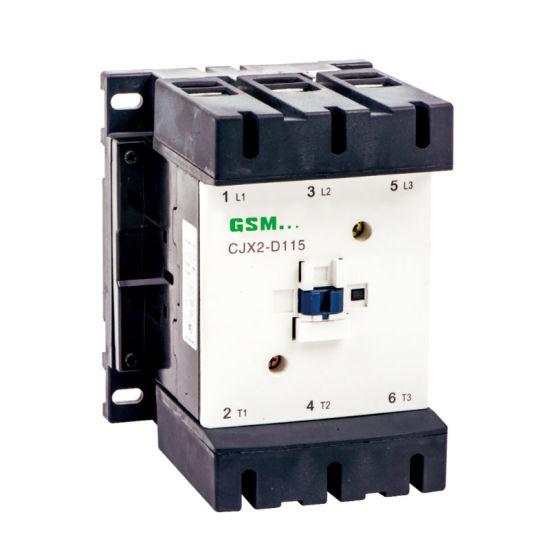 China AC Contactor New Type Cjx2-D115-620/ LC1-D115-620