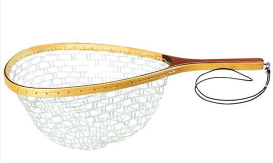 Burl Wood Fly Fishing Rubber Landing Net pictures & photos