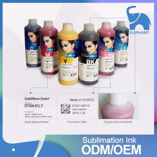 Original Dye Korea Inktec Sublinova Sublimation Ink on Sale pictures & photos
