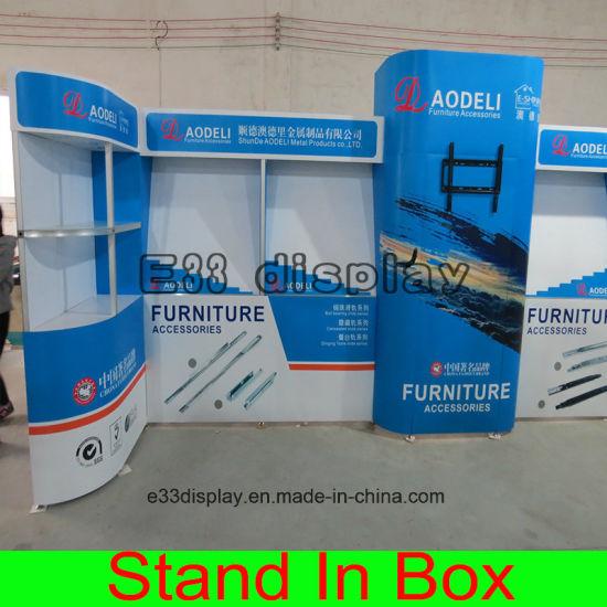 China DIY Portable Reusable Exhibition Modular Display Booth - China