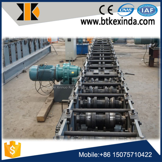 Shelf Rack Cold Metal Sheet Roll Forming Machine pictures & photos