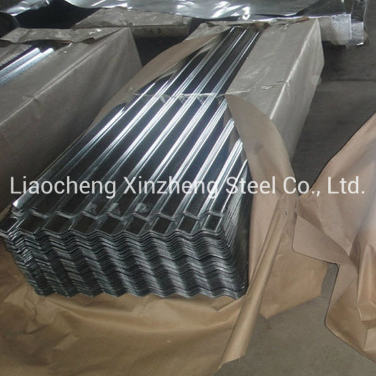 0.25-0.50mm Hot Dipped Galvanized Corrugated Gi Steel Roofing Sheet