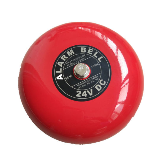 """6"""" Fire Alarm Bell 24V Electric Bell"""