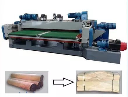 8 Feet Wood Veneer Production Rotary Peeling Cutting Lathe Machinery pictures & photos