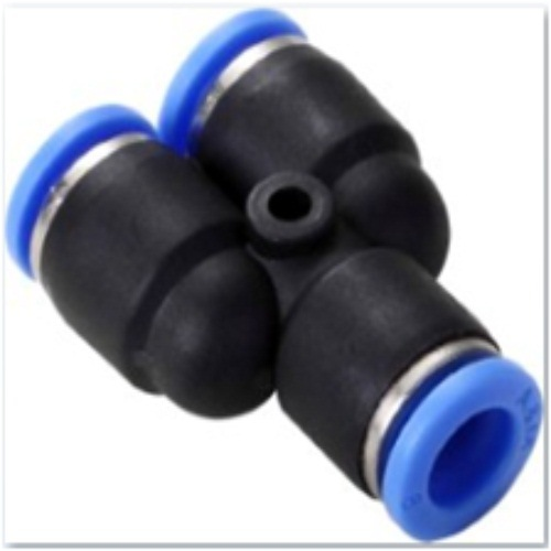 Wholesale PV Union L 90 Degree Plastic Connector Pneumatic Fittings pictures & photos