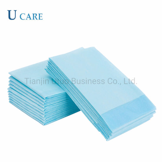 Super Soft Medical Disposable Nonwoven Under Pads pictures & photos