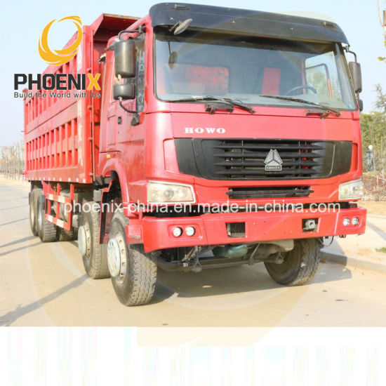 Hot Sale 8 by 4 12wheels Sinotruk HOWO Used Dumper Trucks with Promotion Price for Africa Marketing