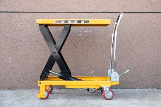 Hydraulic Mobile Scissor Lift Table for Lifting Equipment