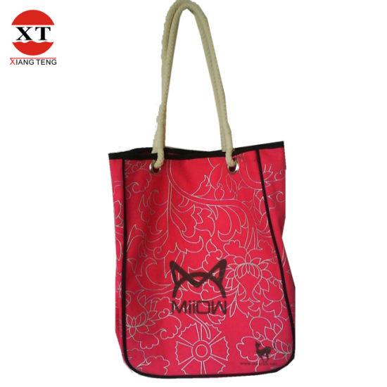 Cotton Canvas Shopping Bag (FLY6035)