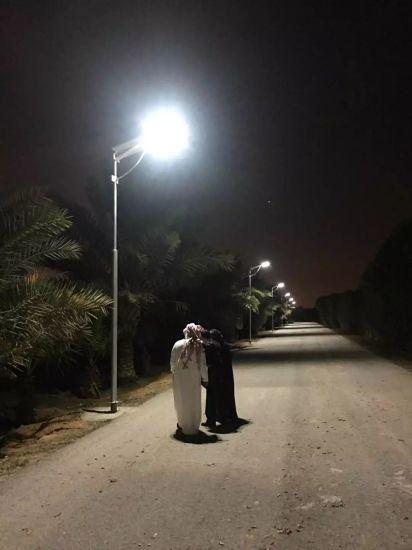 Solar LED Road Light All in One Intgrated Solar Street Light 80W