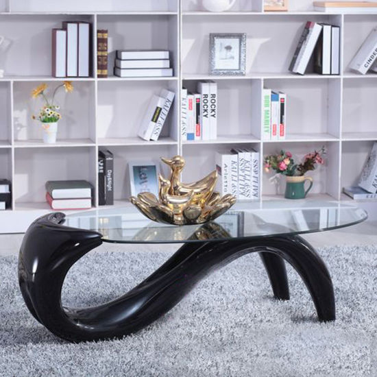 Rectangular&Round Marble Cabinet Glass Exotic Coffee Table Tea Table