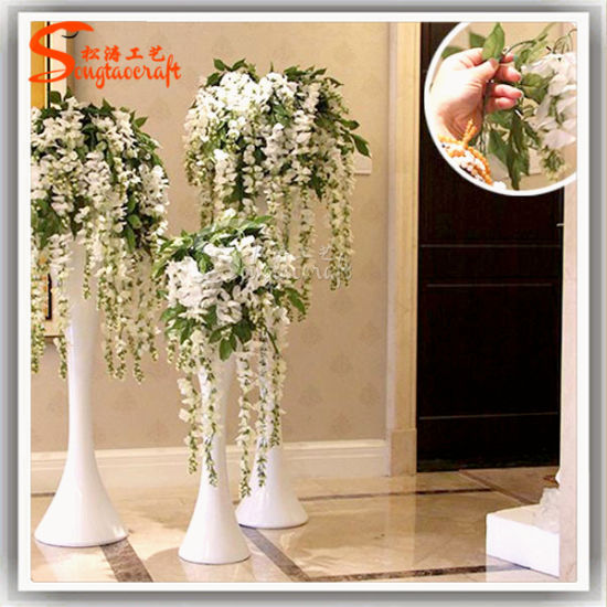 China supply artificial flowers hanging wisteria flower china china supply artificial flowers hanging wisteria flower mightylinksfo