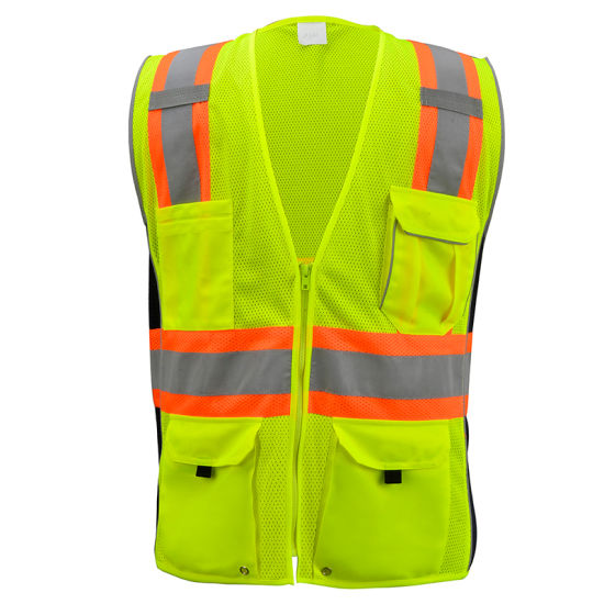 Factory Direct High Quality Reflective Worker Safety Vest