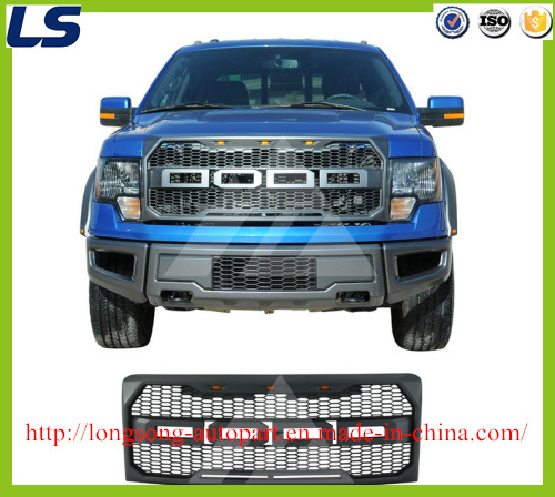 ABS New Raptor Style Black Grille for 09-14 Ford F150