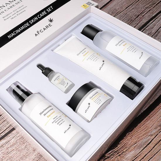 OEM/ODM Niacinamide Oil-Control Skin Care Set Smoothing Skin Care Set