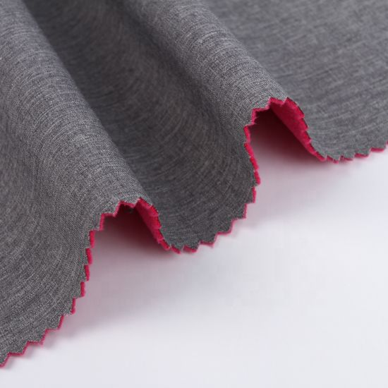Compound Fabric/Houndstooth Print Polyester Suede Fabric Bonded Sherpa Fabric