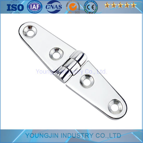 Heavy Duty Marine Boat Hardware Stainless Steel 316 Thick Boat Dock Hinge