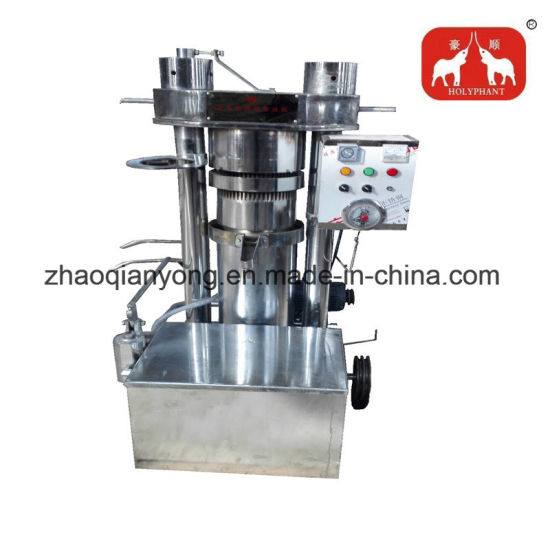 100kg/H Sunflower Seeds Hydraulic Cold Oil Press Machine pictures & photos