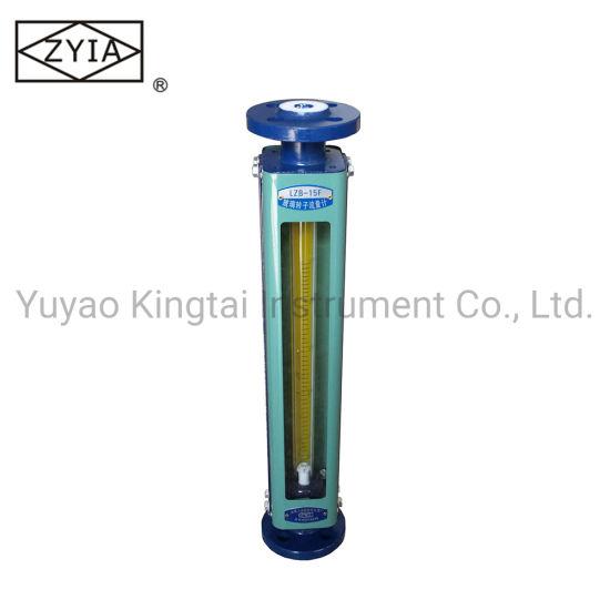 Lzb Flange Type Chlorine Gas Liquid Flow Sensor Rotameter