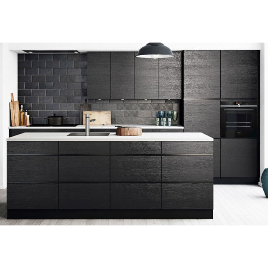Factory Outlet Italian Complete Handleless DIY Kitchen Cabinet Made in China
