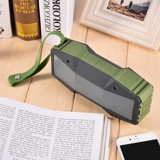 NFC Outdoor Waterproof Bluetooth Wireless HiFi Deep Bass Stereo Music  Player Speaker