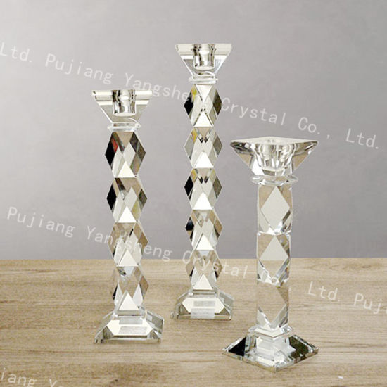 China glass candlestick candle wedding decoration home decoration glass candlestick candle wedding decoration home decoration supplies junglespirit Gallery