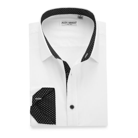 a0994d39fc6c China OEM Men′s Casual 100% Cotton Long Sleeve White Shirts - China ...