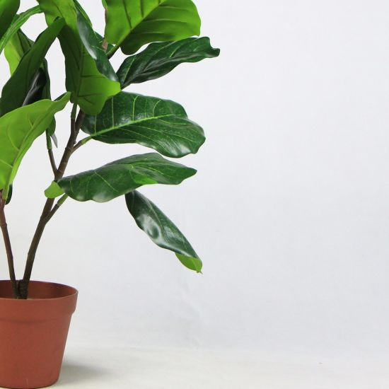 New Products Life Like Foliage 65cm Artificial Office Plants In Pots